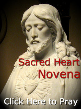Join in praying the Novena to the Sacred Heart of Jesus