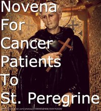 St. Peregrine Novena for Cancer Patients