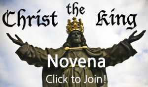 Christ the King Novena