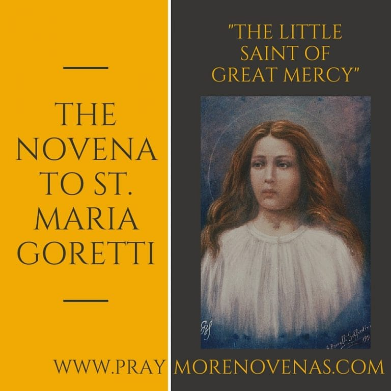 Join in praying the The Novena to St. Maria Goretti