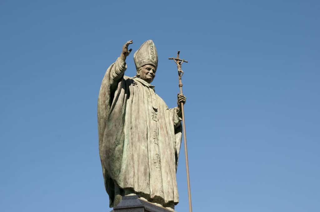 Pope John Paul II Statue - Spain