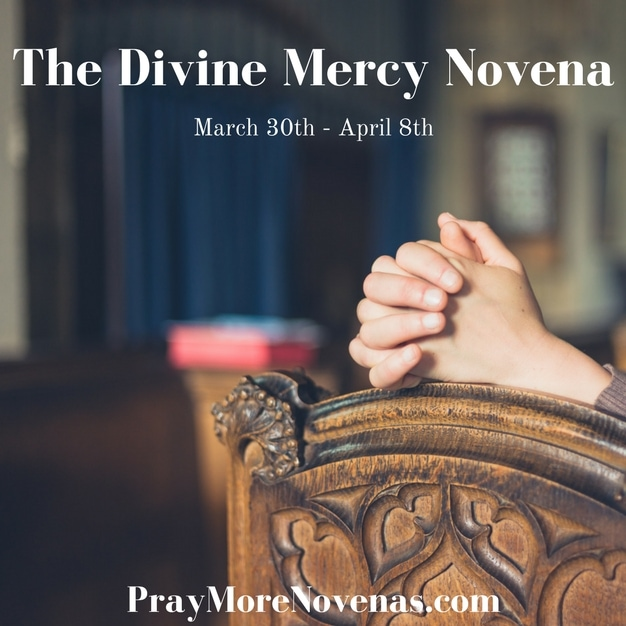 Day 5 - The Divine Mercy Novena 2018 - Novena Prayers - Catholic