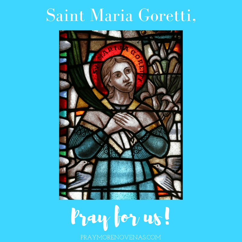 Final Prayer - St  Maria Goretti Novena 2018 - Novena
