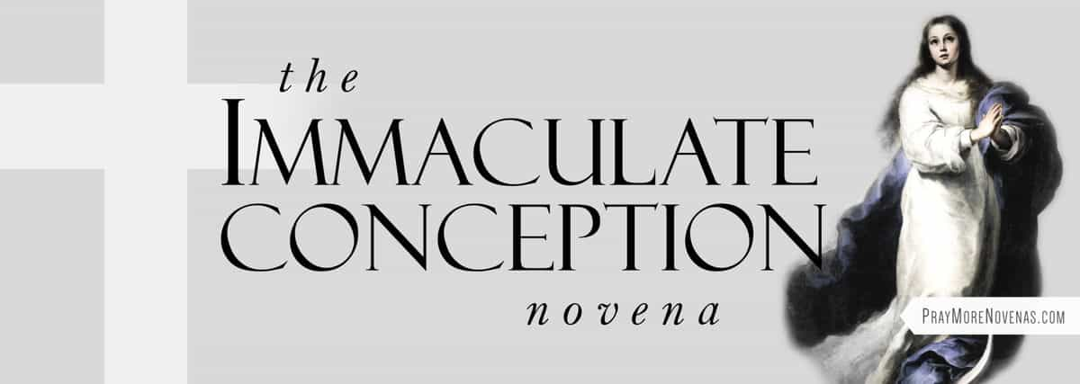 Join in praying the Immaculate Conception Novena