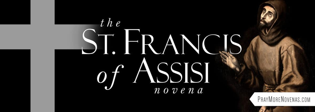 Join in praying the St. Francis Novena