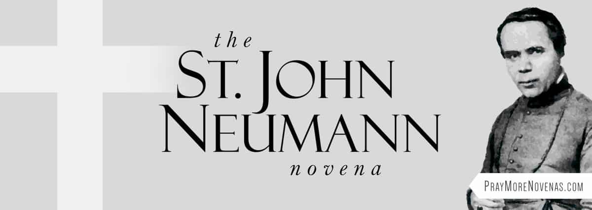 Join in praying the St. John Neumann Novena