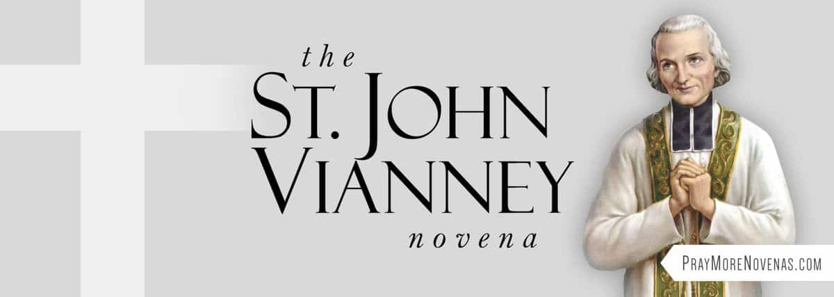 Join in praying the St. John Vianney Novena