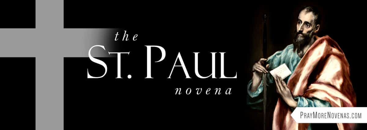 Join in praying the St. Paul Novena