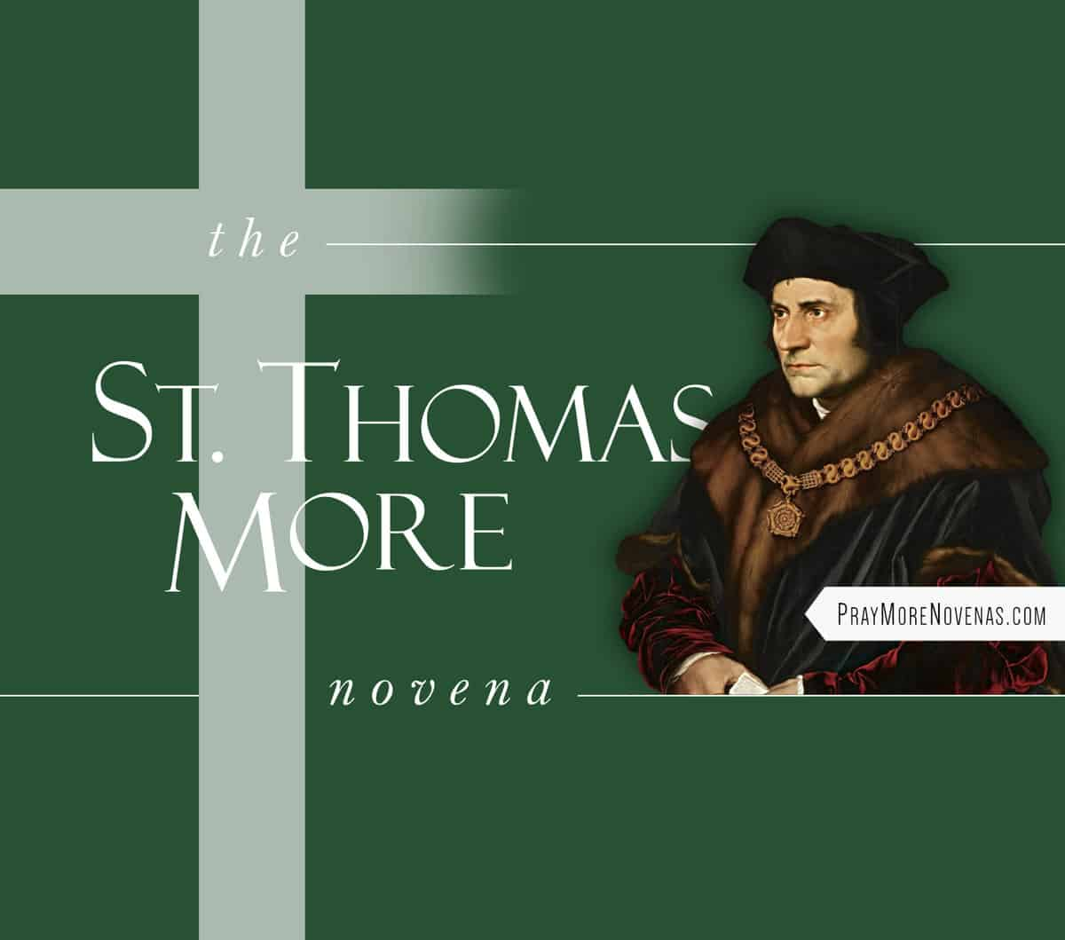 St. Thomas More Novena
