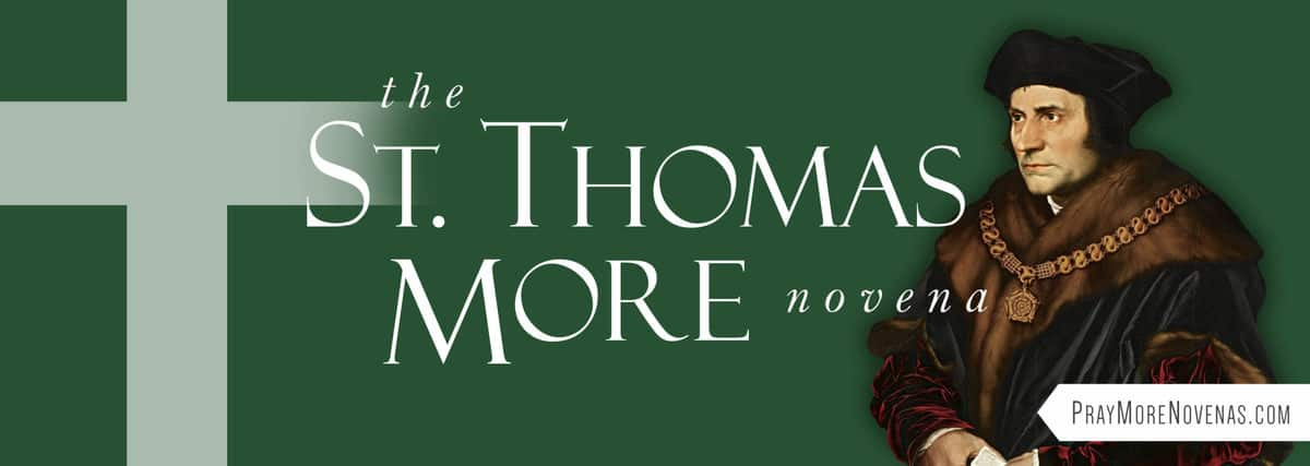 Join in praying the St. Thomas More Novena