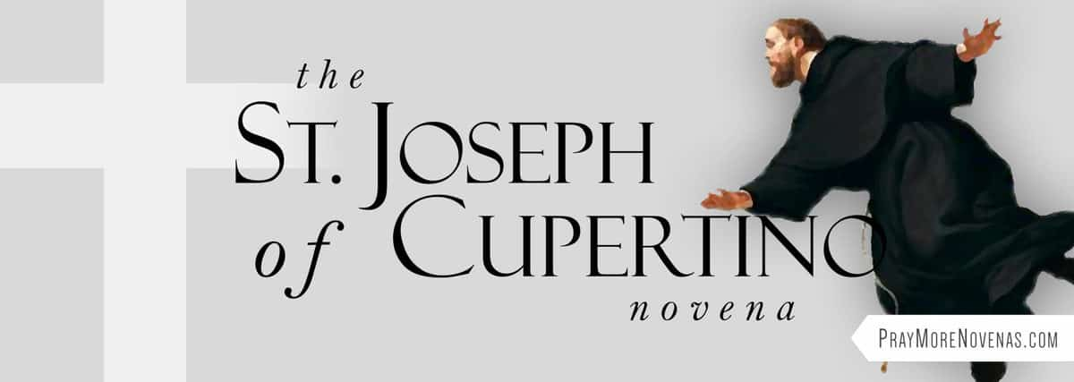 Join in praying the St. Joseph of Cupertino Novena