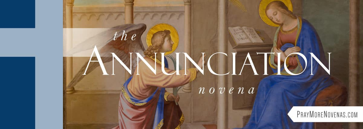 Join in praying the Annunciation Novena