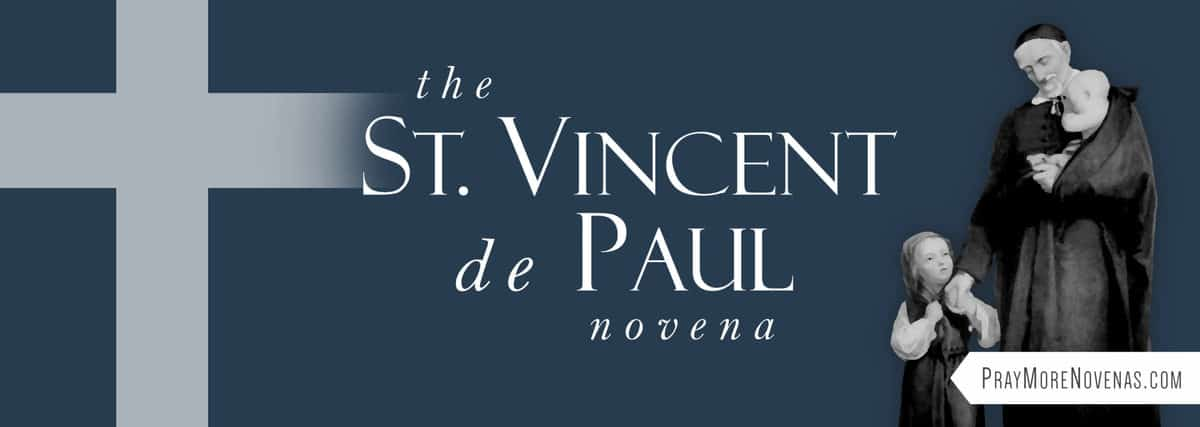 Join in praying the St. Vincent de Paul Novena