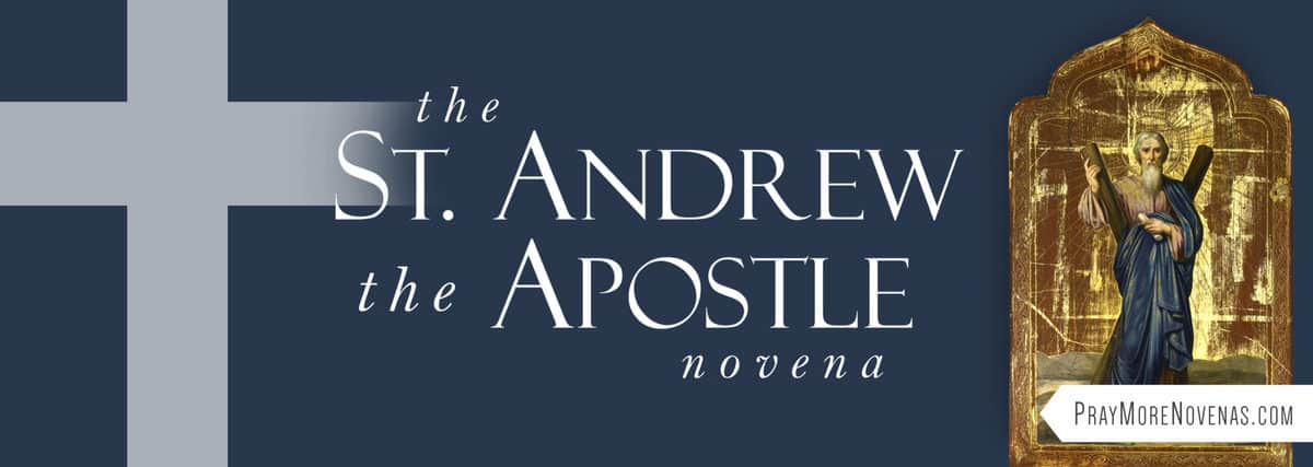 Join in praying the St. Andrew Novena