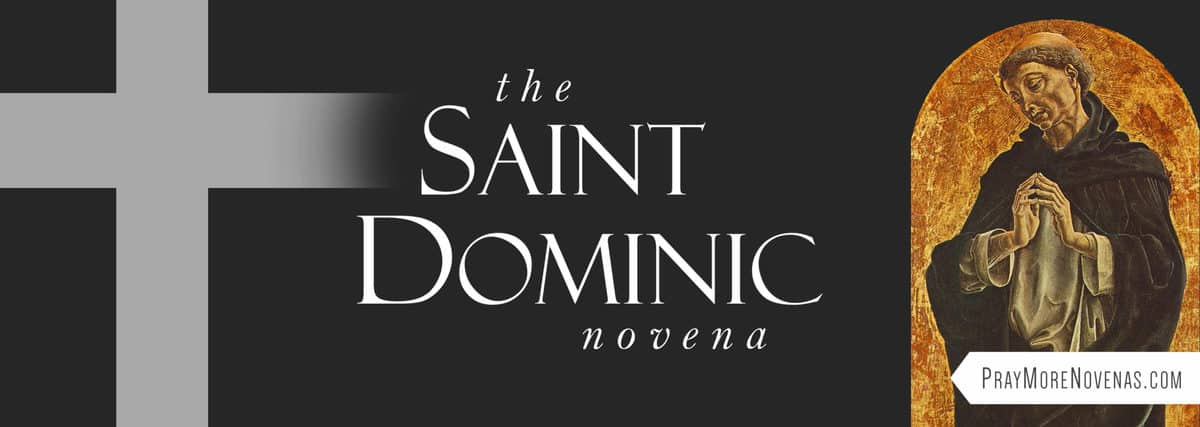 Join in praying the St. Dominic Novena