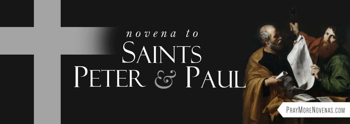 Join in praying the Novena to Saints Peter and Paul
